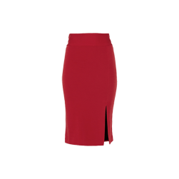 Alice + Olivia Tani Wool Pencil Skirt