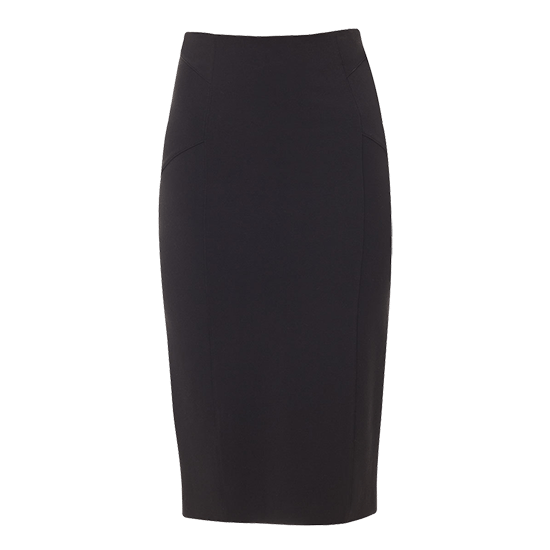Veronica Beard Vail High Waisted Seamed Skirt