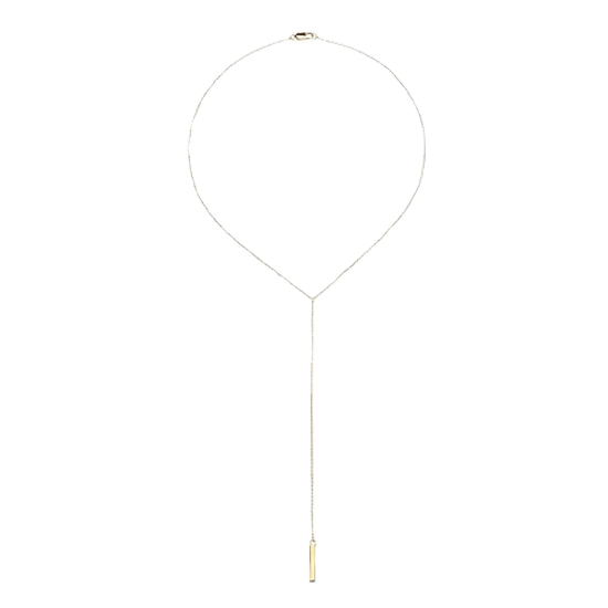 Women's Stella Valle for Target Move the Chains Lariat Necklace - Gold
