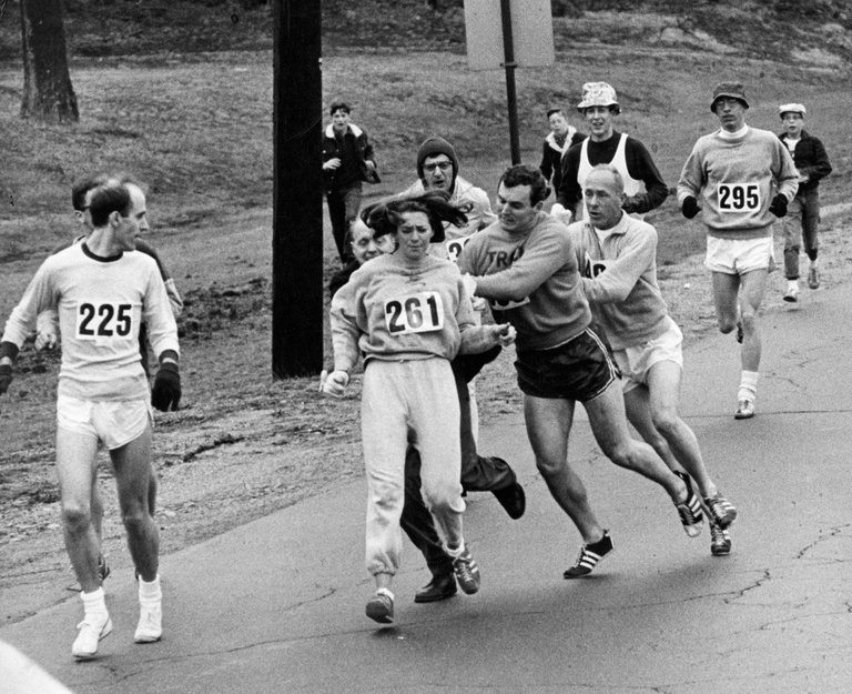 Kathrine Switzer, First Female to run Boston Marathon